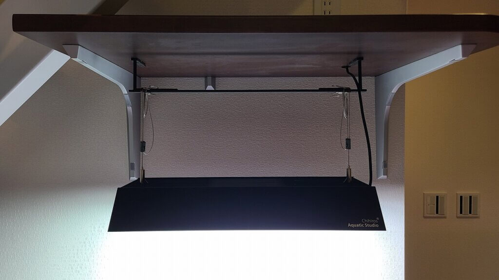 吊り下げ照明 設置例
